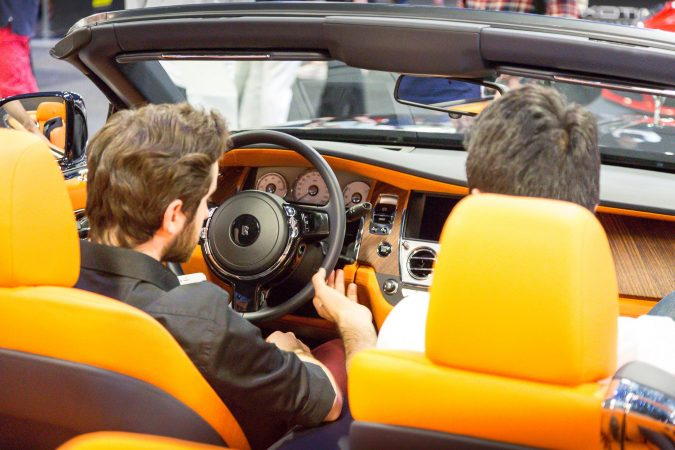 The London Motor Show 2016-114 Rolls-Royce Dawn