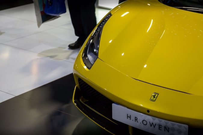 The London Motor Show 2016-135 Ferrari 488