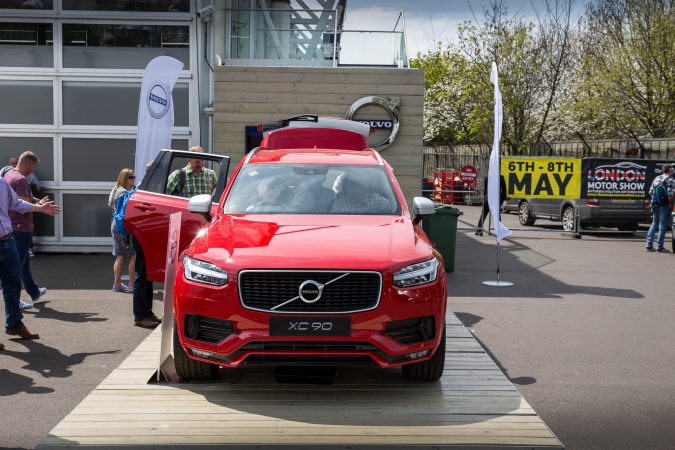 The London Motor Show 2016-17 Volvo XC90