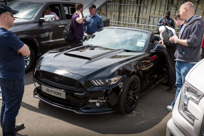 The London Motor Show 2016-20 Mustang