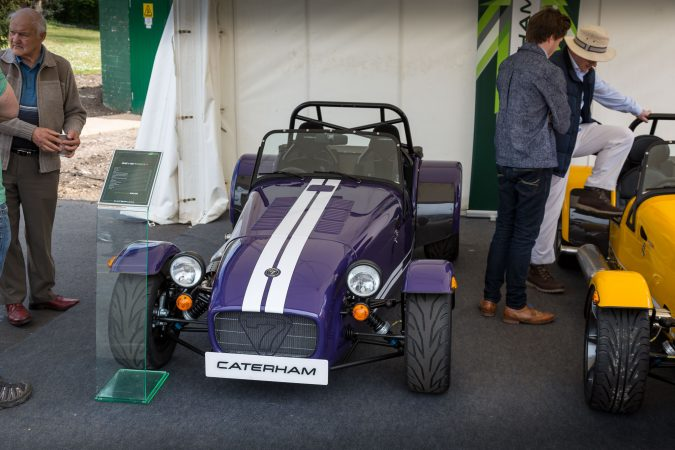 The London Motor Show 2016-24 Caterham