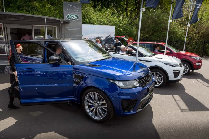 The London Motor Show 2016-27 Range Rover Sport SVR