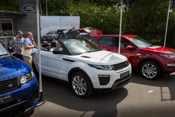The London Motor Show 2016 28 Covertible Evoque