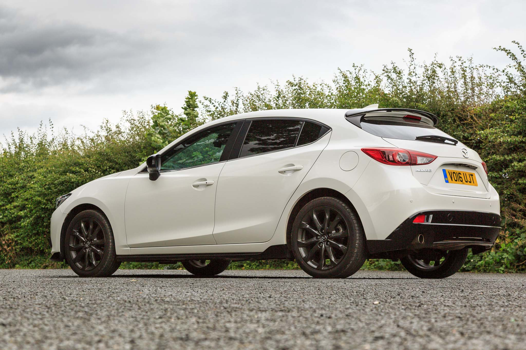 2016 mazda3 sport black edition review. Black Bedroom Furniture Sets. Home Design Ideas