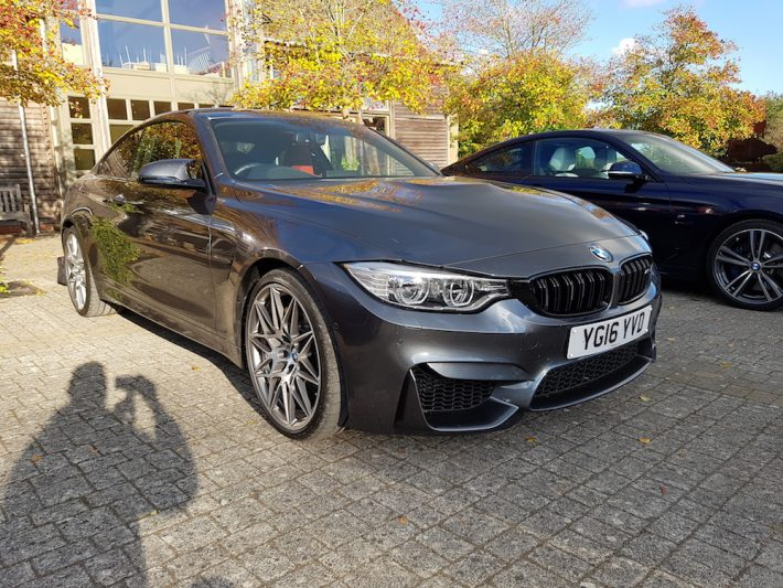 BMW M4 Front
