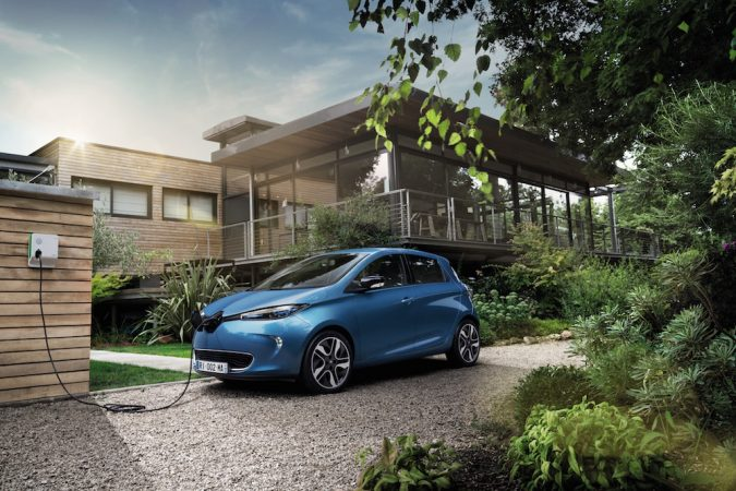 Letting the ZOE charge is a great excuse to go and make a brew. Source: Newspress/Renault