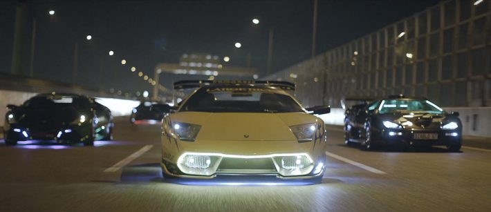 Lamborghinis At Night Short Film