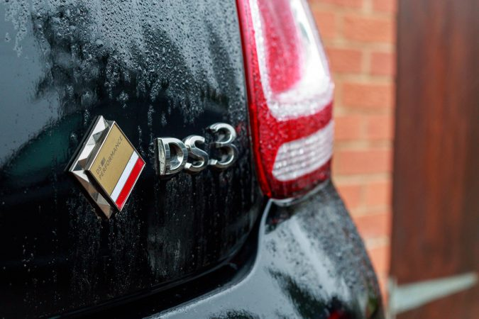 DS3 Performance Black DS Rear Badge