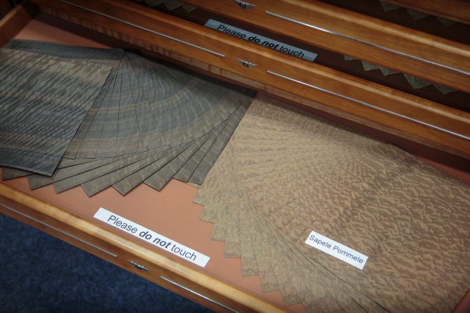 Woodshop Centre of Excellence Bentley Wood Samples