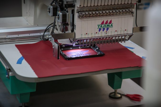 Bentley Computerised Embroidery machine