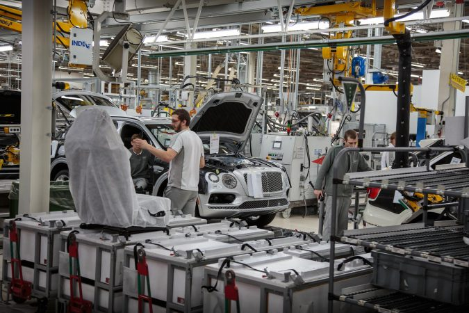 Bentley Factory - Bentayga Production Line