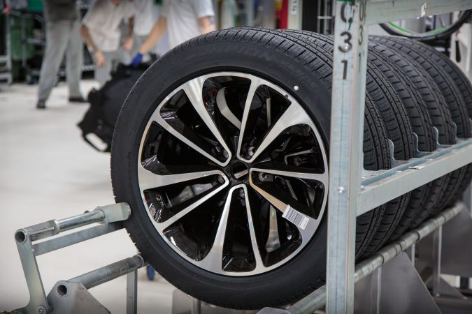Bentley Wheels - Bentley Factory - Bentayga Production Line