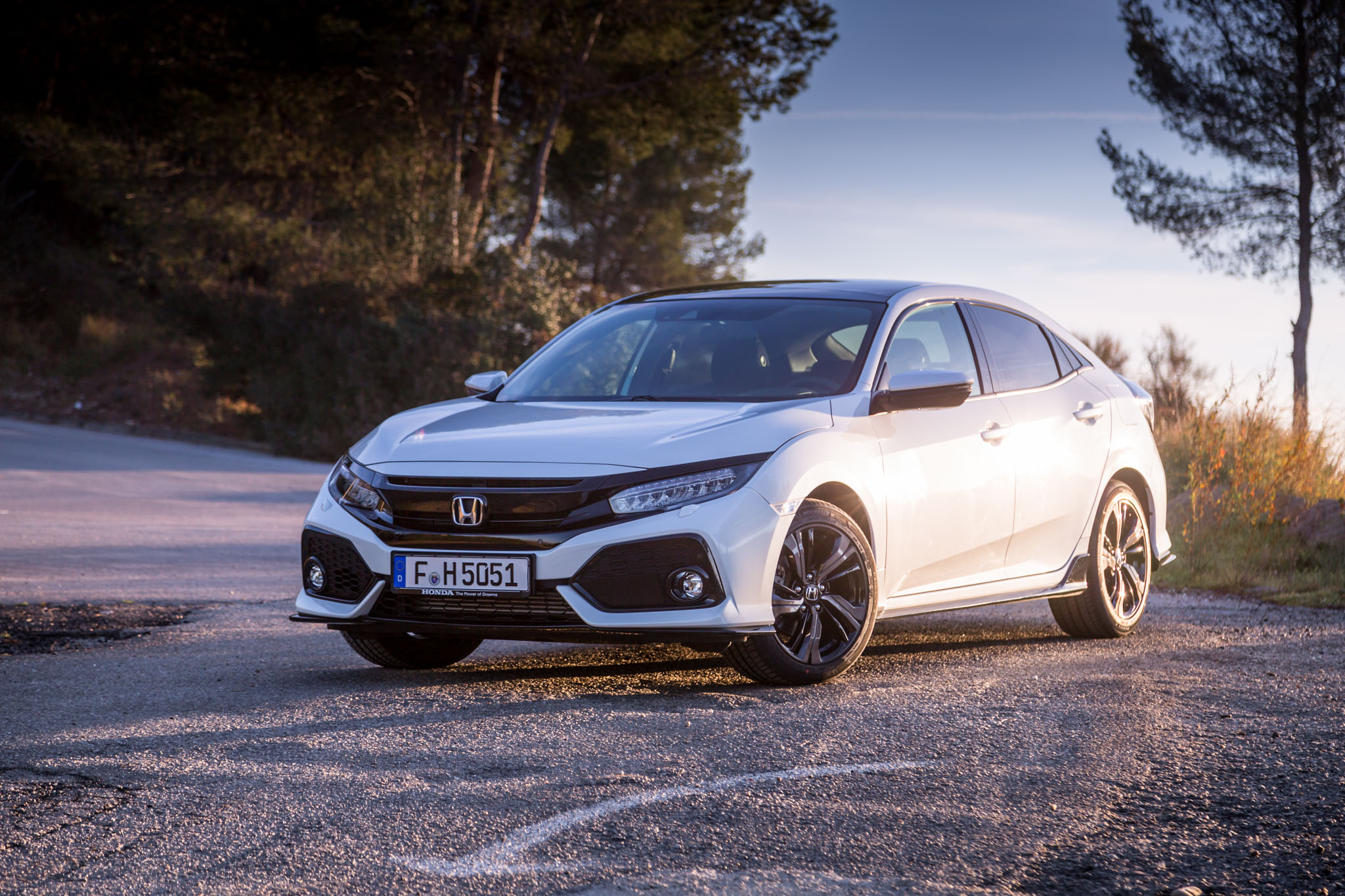 The new car has been carefully developed to make it 16kg lighter and ...