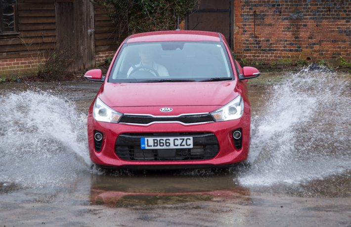 2017 Kia Rio First Edition Red 10