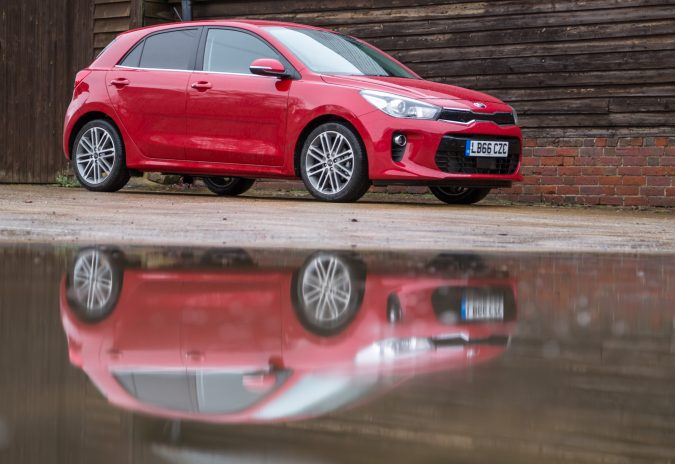 2017 Kia Rio First Edition Red 8