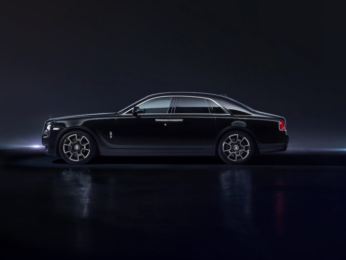 Rolls-Royce Ghost Black Badge side view