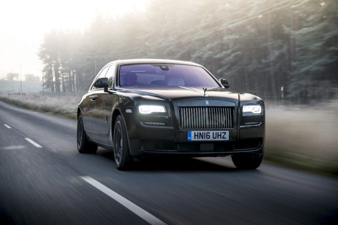 Rolls-Royce Ghost Black Badge front view