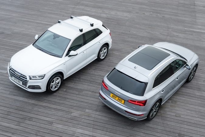New Audi Q5, which has been given top marks by Euro NCAP