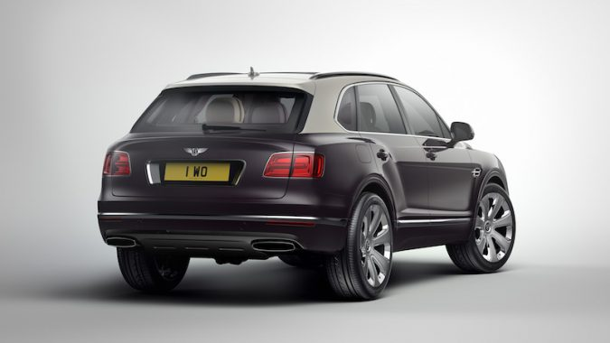 Mulliner Bentley Bentayga