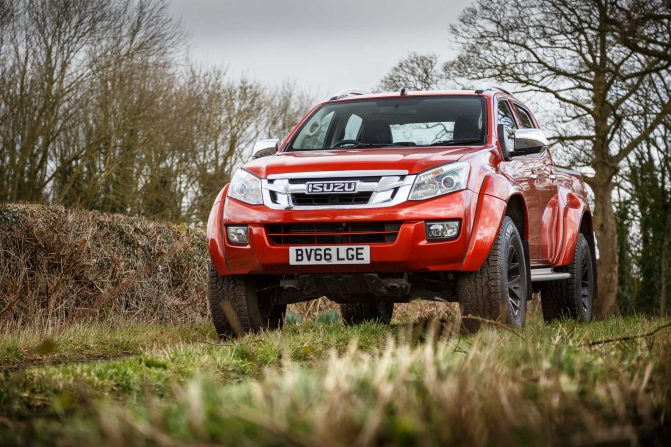 Isuzu D Max Arctic Trucks AT35 PH 6