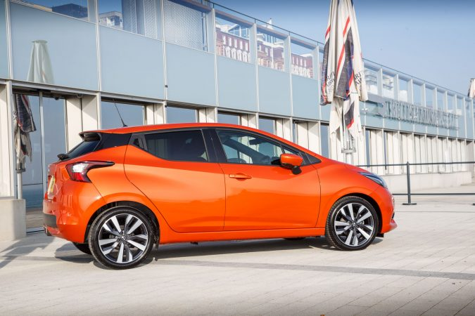 2017 Nissan Micra Tekna - Orange