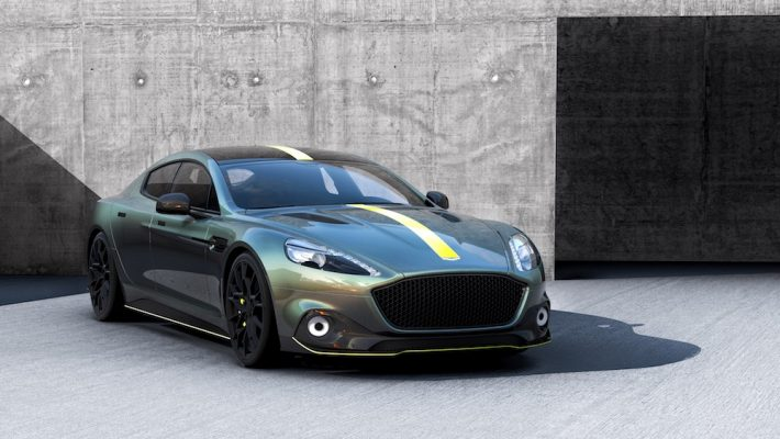 Rapide AMR front