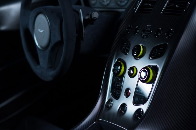 Rapide AMR interior