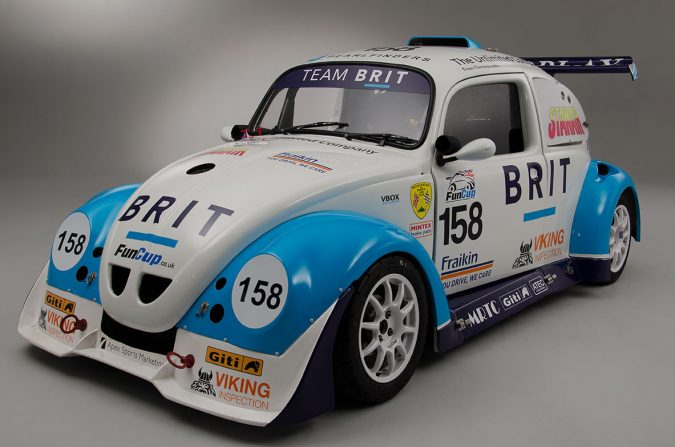 Team BRIT racing car