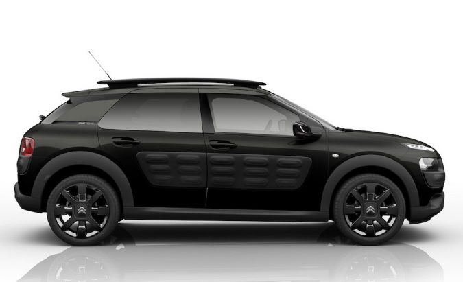 back in black citroen c4 cactus onetone. Black Bedroom Furniture Sets. Home Design Ideas