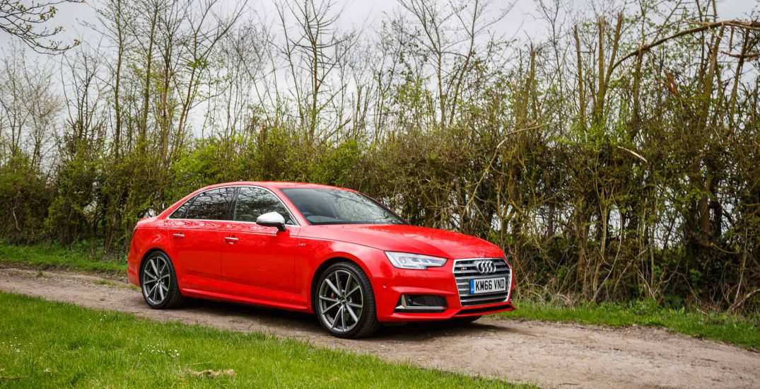 2017 Audi S4 Saloon Red 2