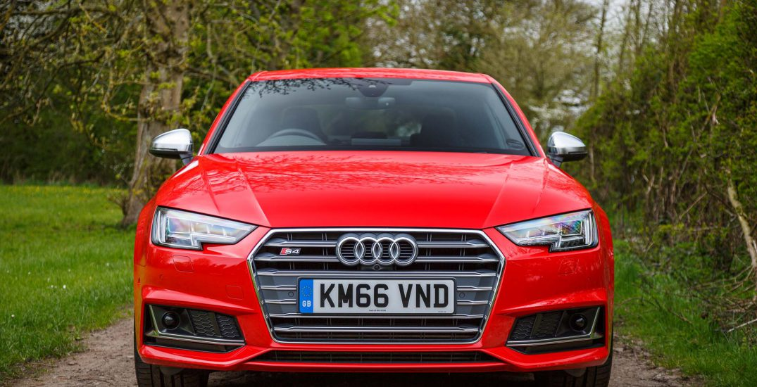 2017 Audi S4 Saloon Red 5