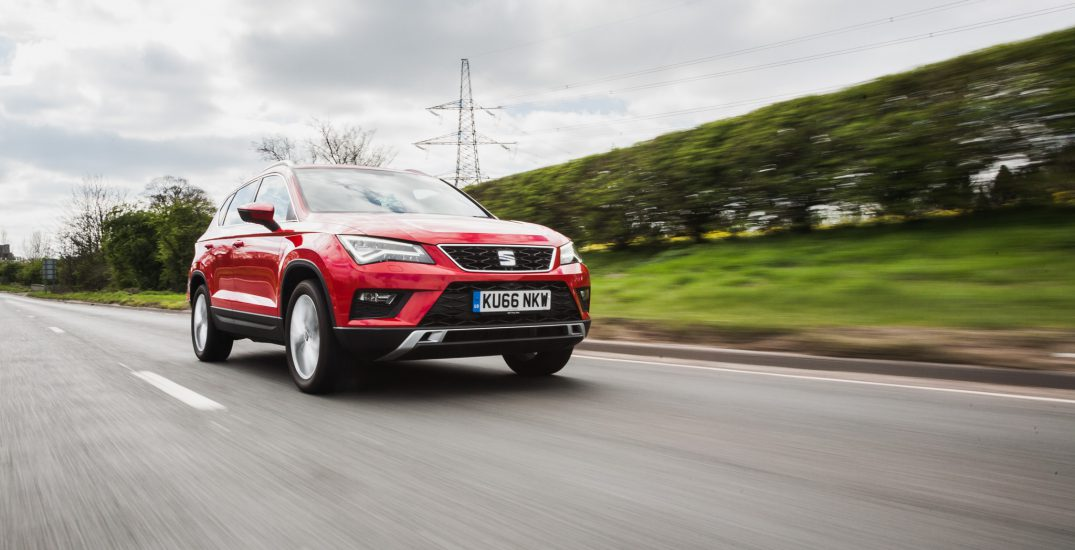 2017 SEAT Ateca Red HR 3