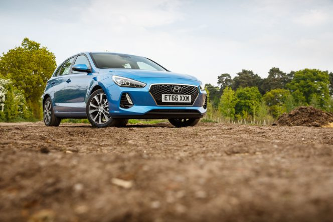 2017 Hyundai i30 Blue PH 17