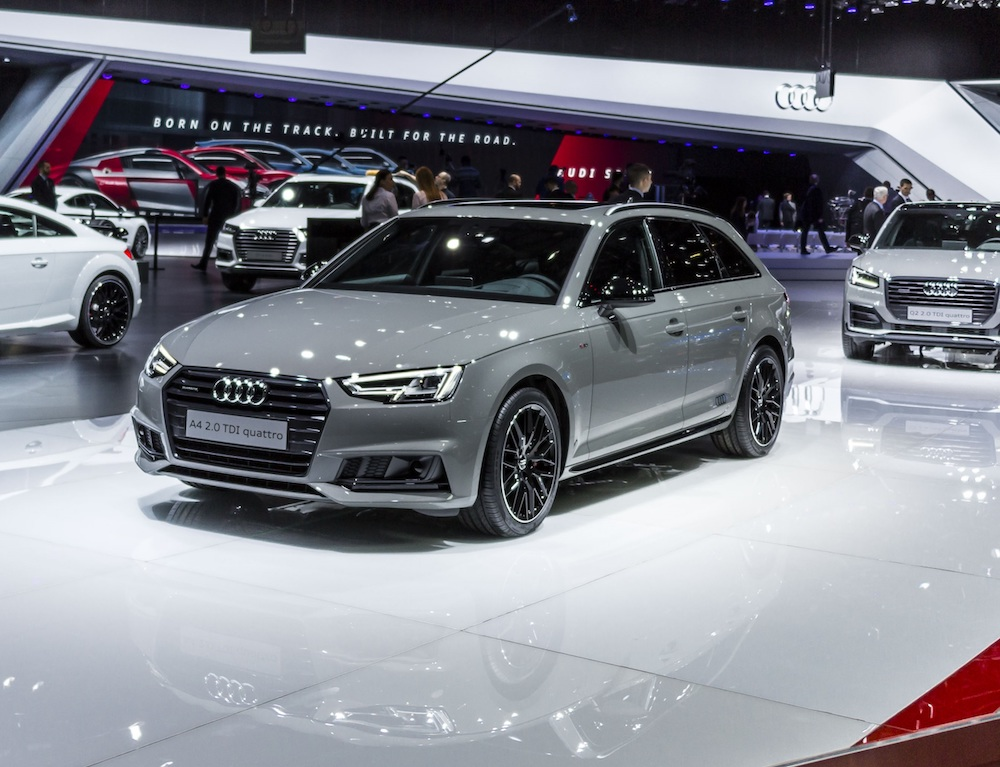 Audi A4 Black Edition New Specs Across A Range Of Models For 2018