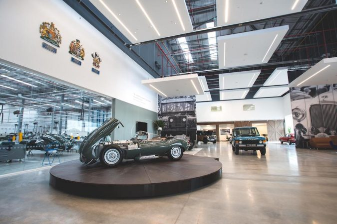 Jaguar Land Rover Clic Works Opens In Coventry