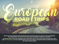 European Road Trip Infographic 1