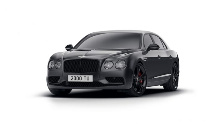 Bentley Flying Spur Black Edition