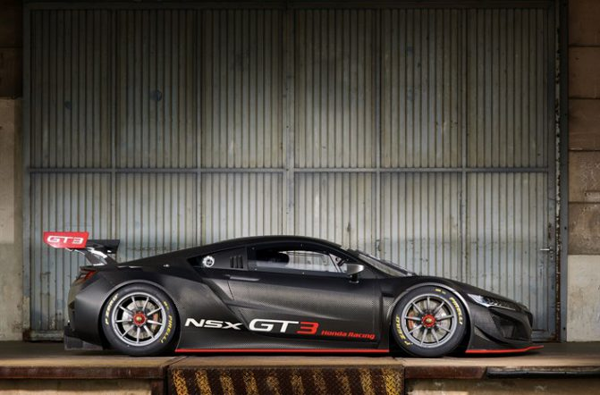 Honda NSX GT3 race car 00001