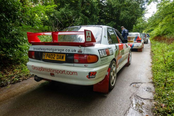Rally GB - Mitsubishi Evo