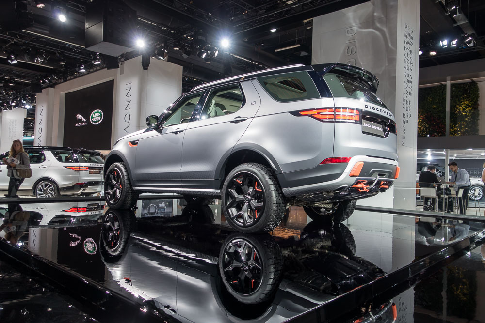 Land Rover Launches Ultimate All-Terrain Discovery SVX