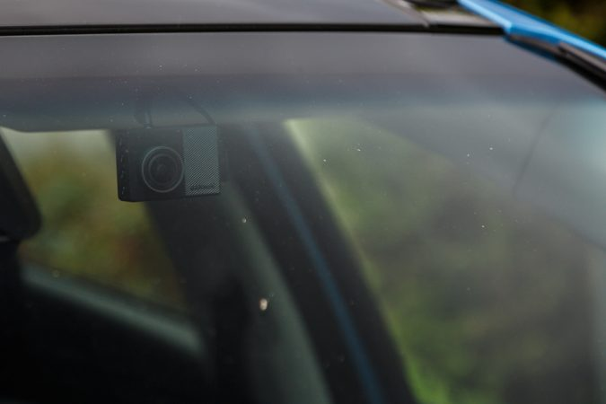 Garmin Dash Cam 65W Installed In Windscreen