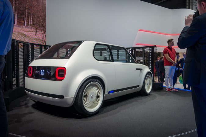 Honda's Electric Powered Vehicle