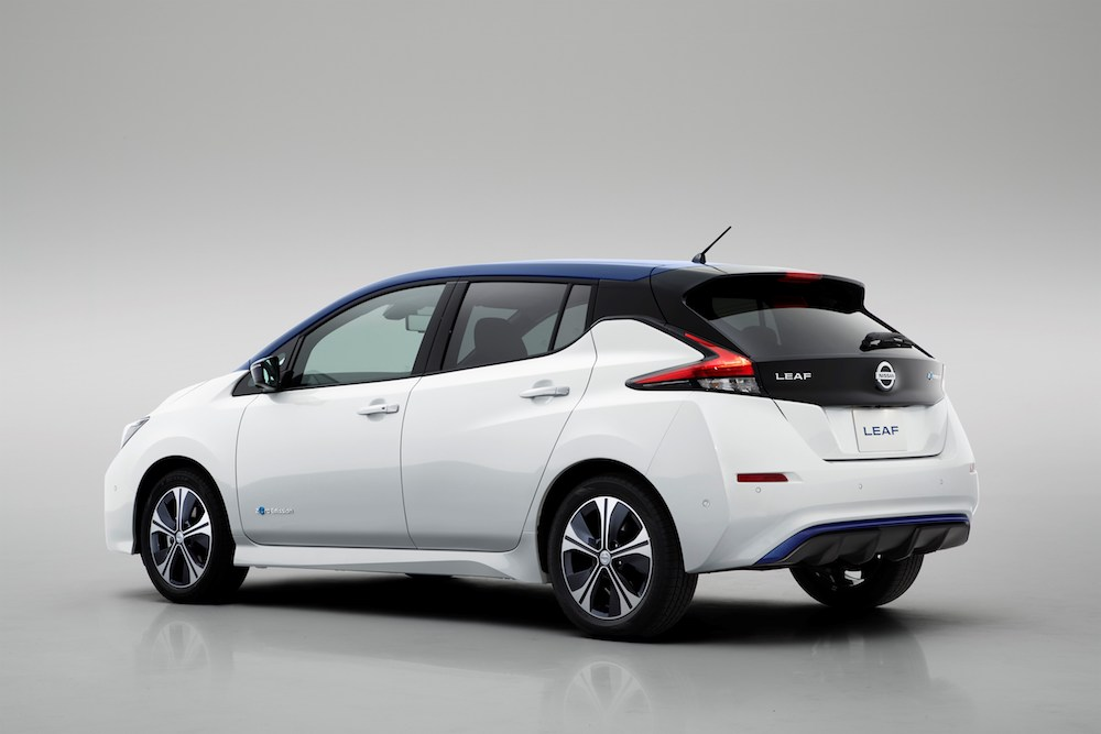 nissan leaf 2 zero exclusive edition is here. Black Bedroom Furniture Sets. Home Design Ideas