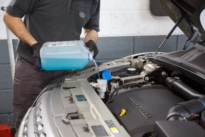 Keeping your car's fluids topped up is a good way to prevent wear and tear.