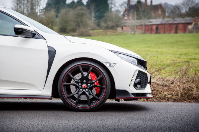 Honda Civic Type R FK8 GT - In Championship White Side on