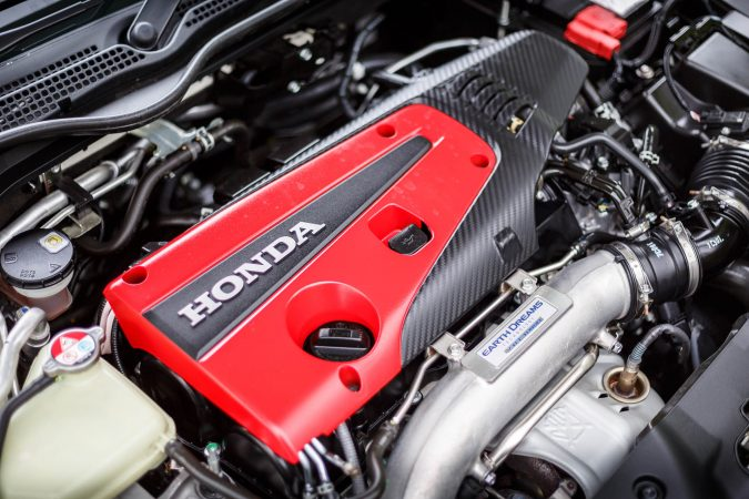 Honda Civic Type R FK8 GT - Engine bay 2018