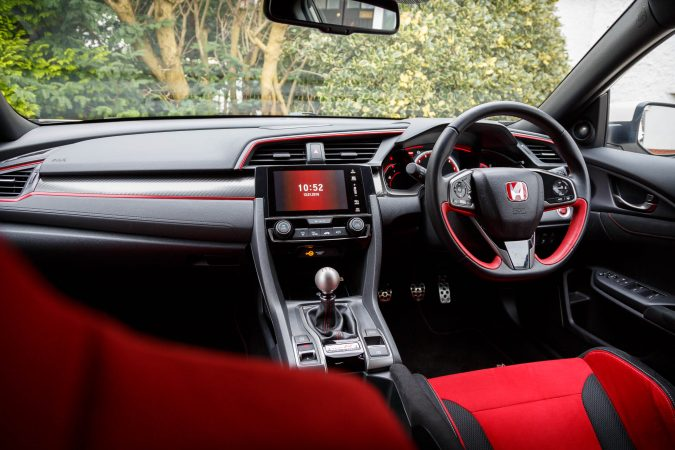 Honda Civic Type R FK8 GT 2018 Interior Red Seats
