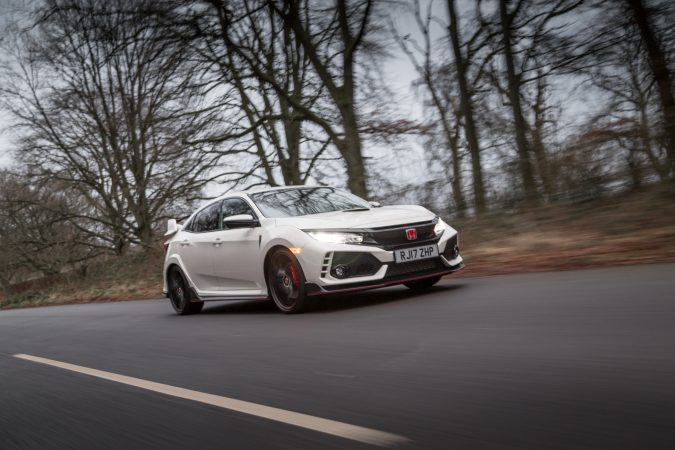 Honda Civic Type R FK8 GT - In Championship White 2018 Rolling shot