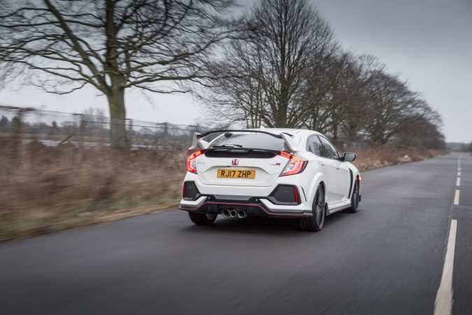 Honda Civic Type R FK8 GT - In Championship White Rolling Picture