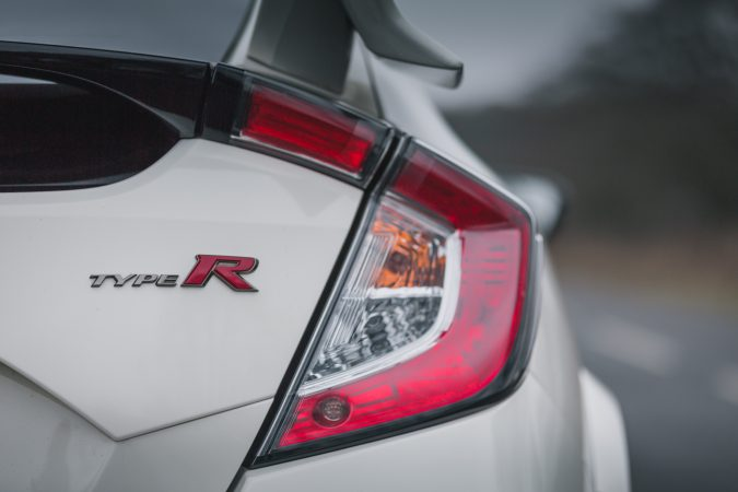 Honda Civic Type R FK8 GT - In Championship White Type R Rear Badge
